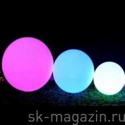 Светодиодный шар разноцветный 60 см