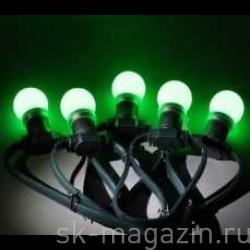 """Гирлянда """"LED Bulb String"""", цвет зелёный"""