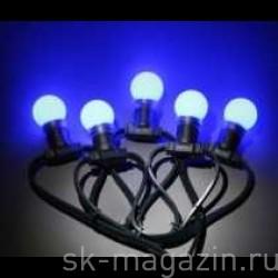 """Гирлянда """"LED Bulb String"""", цвет синий"""