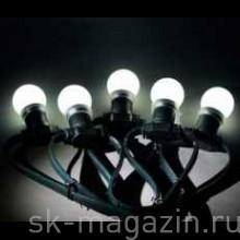 """Гирлянда """"LED Bulb String"""", цвет холодный белый"""