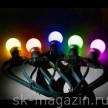 """Гирлянда """"LED Bulb String"""", цвет мультиколор"""