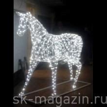 Светодиодный Конь, высота 2м