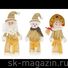"""Чехол для бутылки """"Санта"""", """"Снеговик"""", """"Снегурочка"""""""