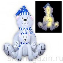 Белые медведи-Новогодние