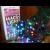 Гирлянда светодиодная нить, 90 светодиодов, 9 м., мультицвет, провод: чёрный