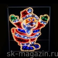Дед Мороз, 0.7Х0.65М