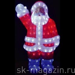 """Акриловая световая фигура """"Дед Мороз"""" (60см)"""