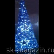 Светодиодная елка 0.9 м, синяя